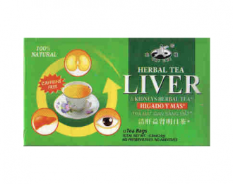 LIVER/KIDNEY/EYES TEA- Small Box-12 tea bags $4