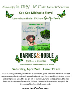 barnes and Noble flyer butterfly