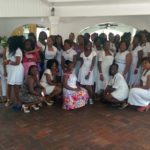 Cee Cee's Purity Training with girls in St. Lucia