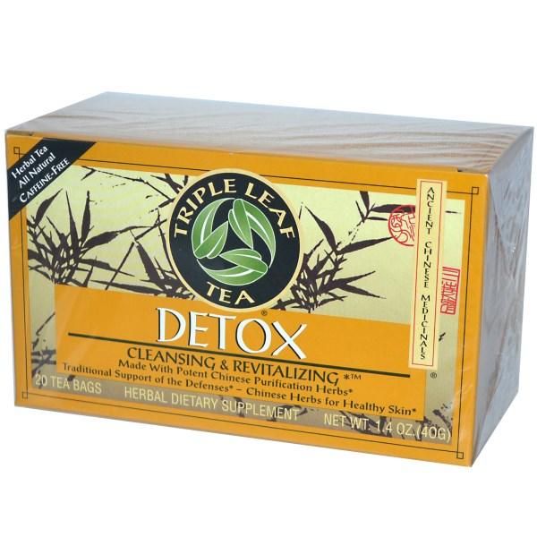 Triple leaf detox tea where to buy