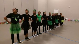 The Zoe Greene Girlz Performing Arts Company...standing strong & EMPOWERED!