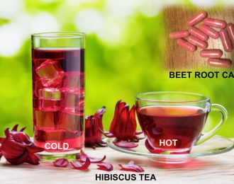 #4 Top Seller: Blood Pressure /Low IRON Kit-RED Jamaican Hibiscus Tea & Beet Root Pill