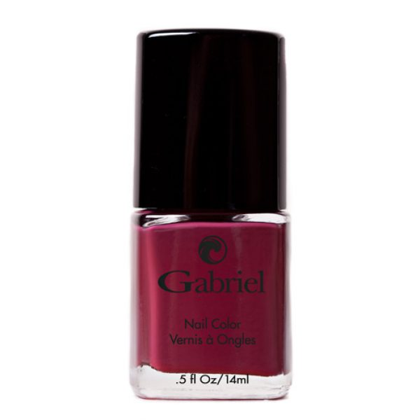Nail Polish- ORGANIC ingredients- color: Deep Berry Wine - no ...
