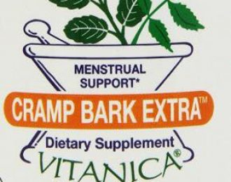Cramp Bark Pills- 15 Veg. Caps. Menstruation Cramps, Migraines, Muscle Spasms, Twitching