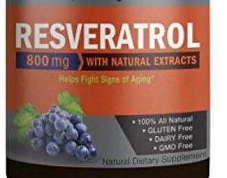 Resveratrol Capsules -60 caps- Anti-Cancer- Breast Cancer
