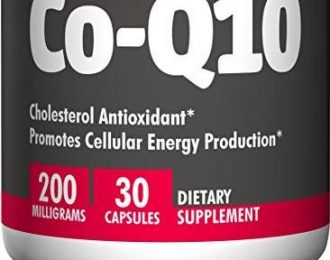 Coenzyme Q 10- 200 mg- NEW count of 60 capsules- Heart Care – Energy – COPD- Coq10- Q10 – Congestive Heart Failure –  CHF-  angina – chest pain- Fibromyalgia – Vertigo- migraine headaches- leg pain , headaches, muscle weakness, brain fog *Note: statin drugs tend to deplete your coenzyme Q 10 and may cause muscle weakness/pain and mitochondrial dysfunction. Our bodies stop making Co Q 10 after age 40! WARNING: If you are on a blood thinner, do not use Co Q 10 without consulting your health care provider. CoQ10