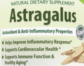 Astragalus – 1000mg- 120 Capsules- immunity- cancer- antioxidant- inflammatory – white blood cells, heart health