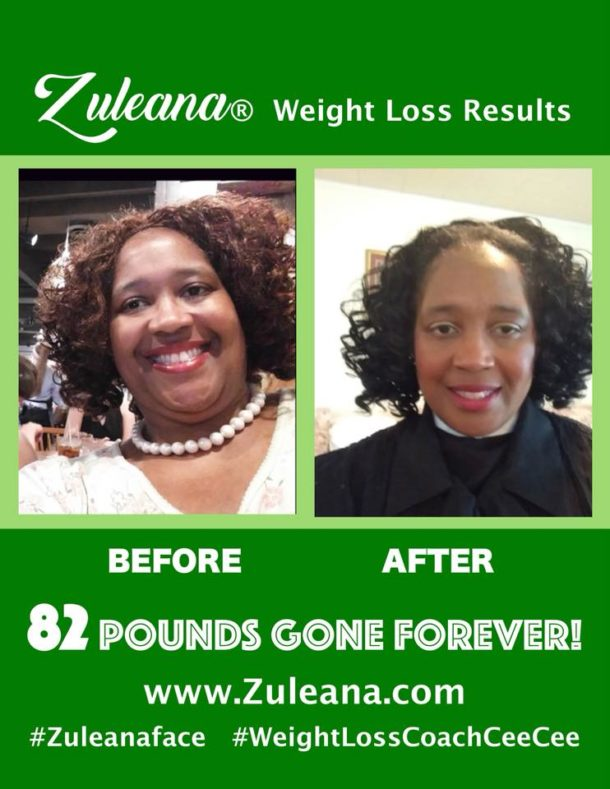 Zuleana®Weight Loss Coaching/Sisterhood Program