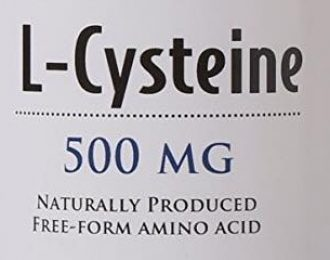 L-Cysteine- 30 capsules- 500 mg- hair loss, respiratory, addictions, OCD, digestive