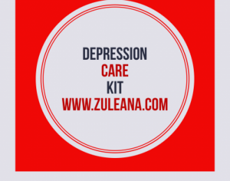 Depression Care Kit- Ashwagandha 120 caps,  Zinc 250 caps/60mgs , Vitamin D3 120 caps, 5,000IUs, Chamomile/Anise Tea- 24 bags