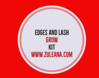 Edges and Lash Grow Care Kit- Emu Oil 2 oz., Edges and Crown Spot Mini Massage Brush, Lash Brush