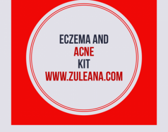 Eczema and Acne Care Kit- green soap, propolis cream, Ojibwa Tea -24 bags