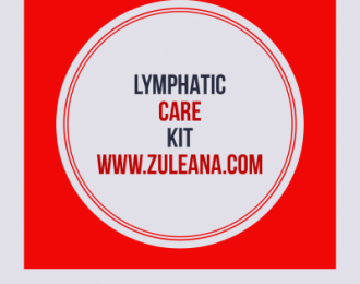 Lymphatic Care Kit-  3 items- Ginger Massage Oil (30 ml )  Organic Ginger Root Tea,  Dry Brush