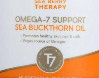 Sea Buckthorn Oil Capsules – 60 caps – Vaginal dryness, Dry eyes , Omega 7- hair, nails, skin