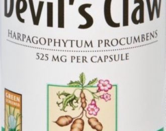 Devils Claw Capsules-  100 caps- 25 mg – Pain, Back Pain, Spondylitis, Knee Pain