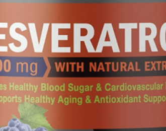 Resveratrol Capsules -90 veggie caps- 1600 mgs – Anti-Cancer- Breast Cancer, blood sugar, cardiovascular, healthy aging, antioxidant, helps cancer